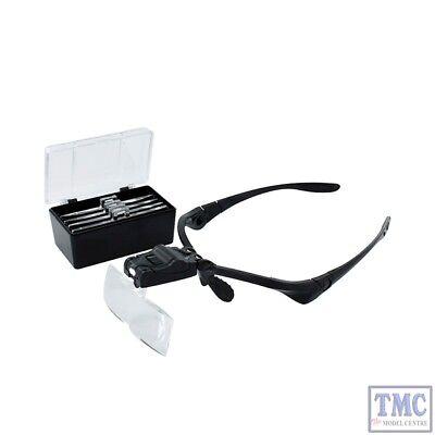 MM001 Bachmann Modelmaker Helping Hands /& Magnifier