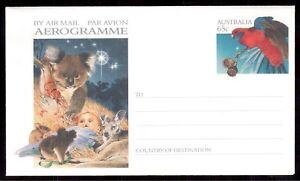 AUSTRALIA-MINT-AEROGRAM-CHRISTMAS
