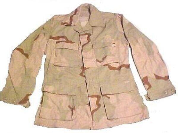 Us Army  3 Color Desert DCU Combat Uniform BDU coat Jacket chaqueta xxlarge regular  precio mas barato