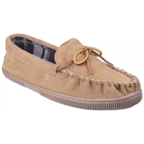 Mirak ALBERTA Mens Suede Leather Casual Comfortable Cosy Soft Moccasin Slippers