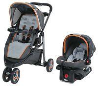 Graco Modes Stroller & Snugride 35 Car Seat, Sport Travel System Tangerine