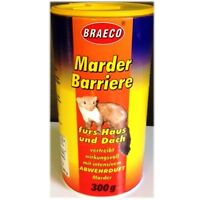 Marder Barriere Braeco Marderschutz Marder Abwehr 300g Anti Marder Stopp Schutz