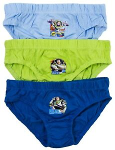 Boys Boxer Shorts Woody Briefs Toy Story Pants Buzz Lightyear 3 to 7 Years