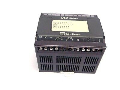 Cutler Hammer D50ER14 Mini PLC Relay Output Module