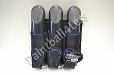 Joey 3+2 Paintball Harness Pack With 3 Pods WGP/NXe/Eclipse/Dye/Empire- Blue
