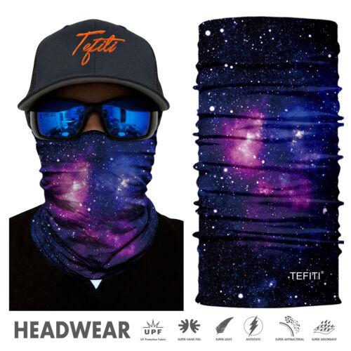 Universe Galaxy Tube Scarf Bandana Head Tube Neck Headwear Bike Motorcycle Snood
