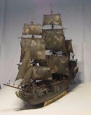 1/96 Black Pearl ship kit 3d Laser Cut Diy model Black Pearl Wood Model ship Kit