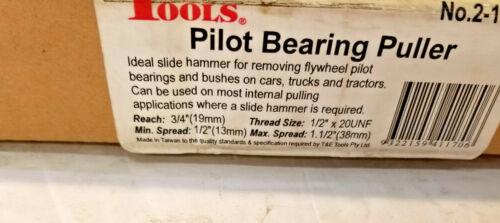 T/&E TOOLS PILOT BEARING HEAVY DUTY PULLER 2-1170 FREE SHIPPING NEW No