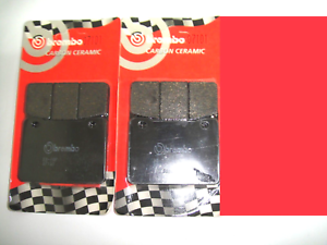 Double Pair Of Front Brake Pads BREMBO 07101 Sym Maxsym 400 400i 2012