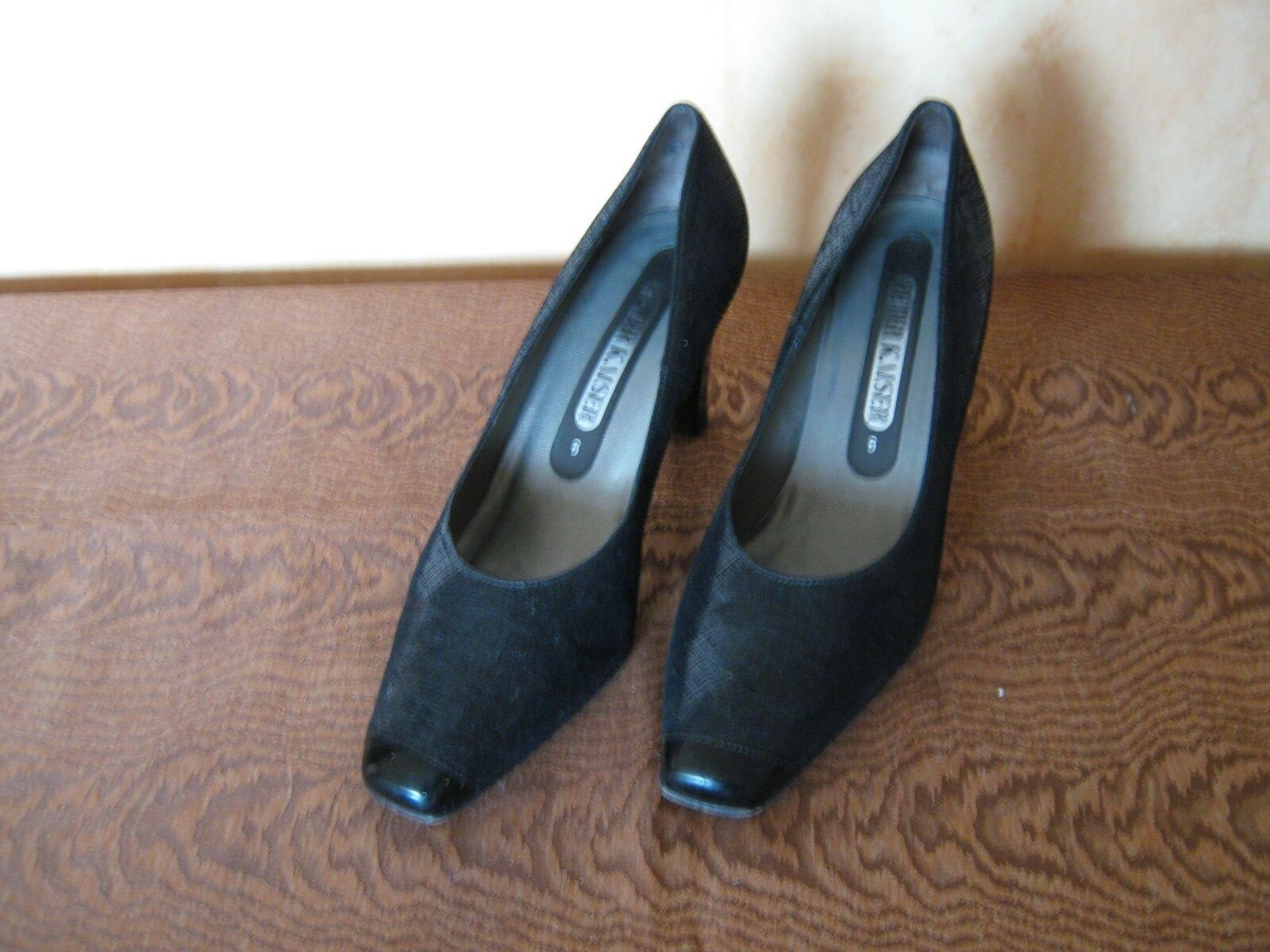 PETER KAISER DAMENSCHUH HIGHT HEELS PUMPS SCHWARZ GR-6