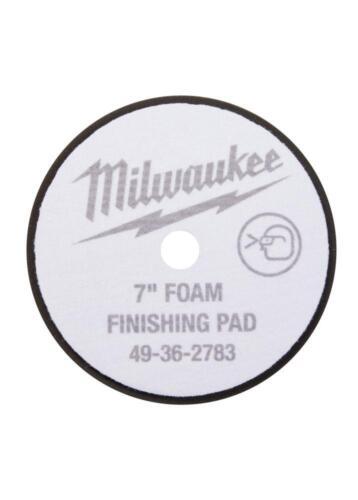 IN STOCK Milwaukee 49-36-2783 7 in Black Foam Finishing Pad
