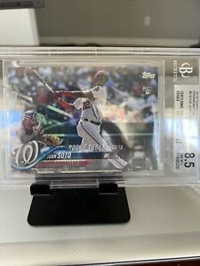 2018-Topps-Update-Series-RAINBOW-FOIL-Parallel-Nationals-JUAN-SOTO-RC-US104-BGS