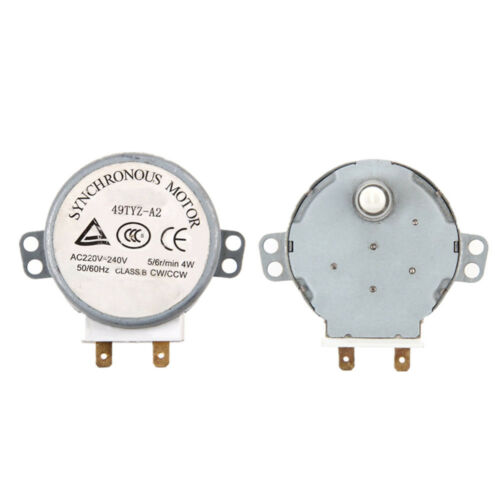 49TYZ-A2 AC 220-240V CW//CCW 4W 5//6 RPM Synchronous Motor for Microwave Oven