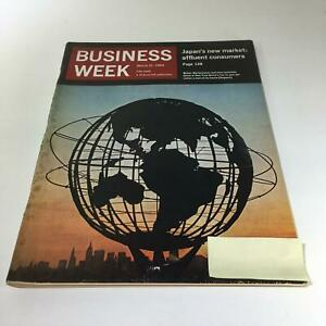 Business-Week-Magazine-Mar-21-1964-Japan-039-s-New-Market-Affluent-Consumers