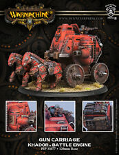 Warmachine BNIB - Khador Gun Carriage Cavalry Battle Engine  RESIN