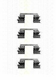 Mercedes Brake Pad Accessory Kit Front Axle Triscan 8105231585 Brand New