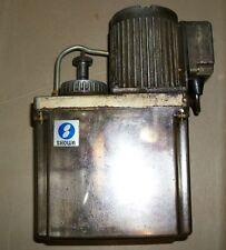 SHOWA OILER  (INDUSTRIAL LUBE RESERVOIR PUMP) W/ Induction Motor JEC37