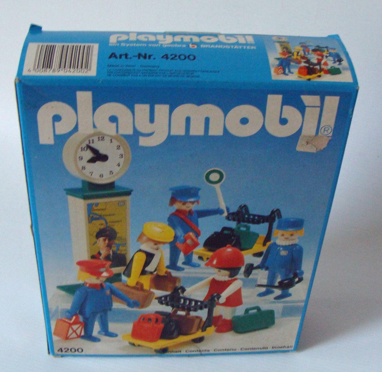 Playmobil 4200 - Reisende Eisenbahn 4+ - Neu