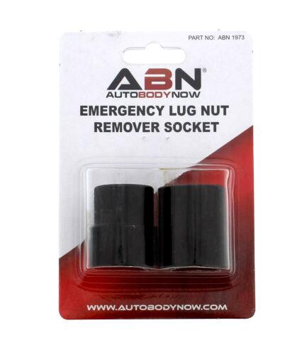 Socket Set for Stripped Lugnut Removal ABN Emergency Lug Nut Remover