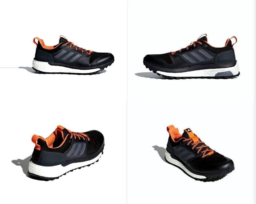 Adidas Supernova Trail Running shoes Carbon   orange Mens Size 11 NIB CG4025