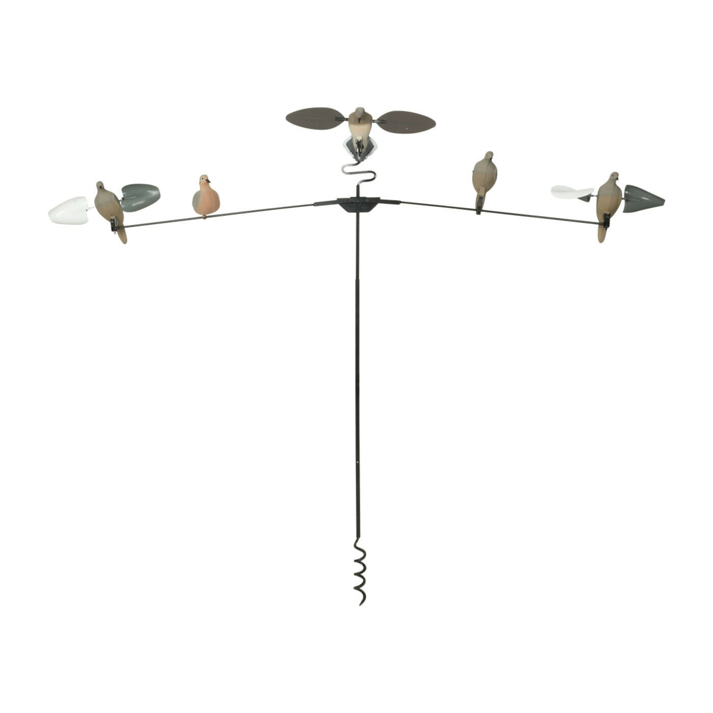 Avery Greenhead Gear 8' T-Dove Pole with Auger Tip Extending Arms Decoys Doves