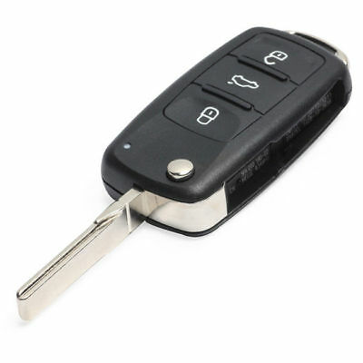 New blade+new transponder id48 can chip OEM Vw Remote Flip Key Key Switchblade