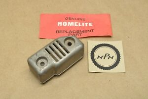 NOS OEM Homelite XL-2 Chain Saw Exhaust Muffler Cover Heat Shield Guard 93976