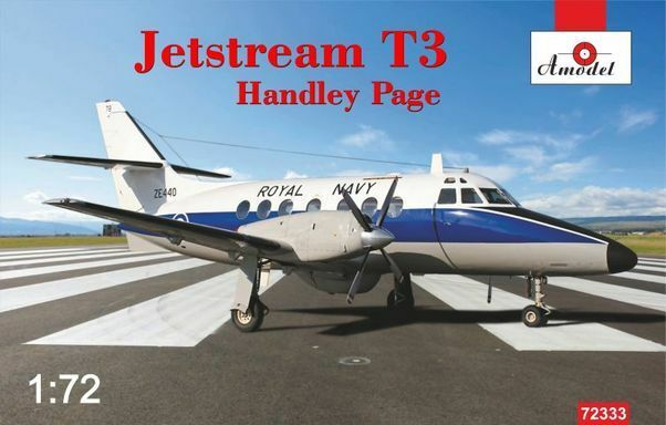 Amodel 1 72 Handley Page Jetstream T3