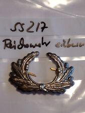 c427 Schulterstücke Leutnant silbern auf schwarz zum einnähen 1 Stück neu
