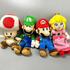 Super Mario Sanei Plush Nintendo Toy Set of 4 retro game
