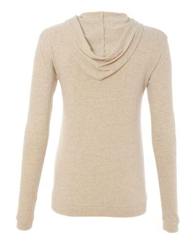 Hooded T-shirt Hoodie Tee Ladies Eco Jersey Hoody 1928 Alternative Apparel