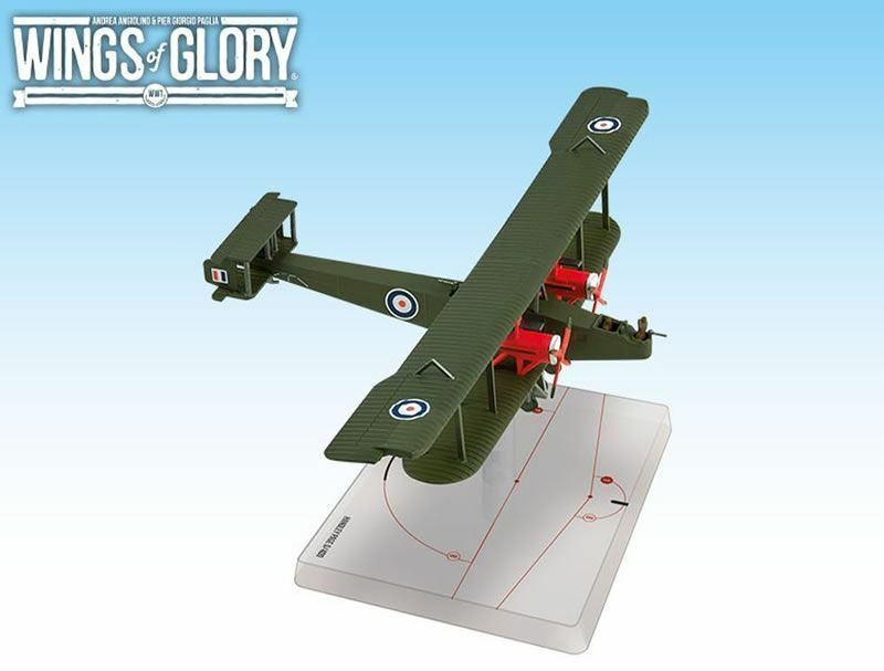 WINGS OF GLORY BRITISH HANDLEY PAGE O 400 MODEL FOR WINGS OF GLORY