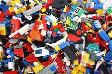 Lego® 1 kg Kiloware Kg Sammlung Steine Konvolut Platten mit 3 Figuren gereinigt