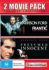 Presumed Innocent / Frantic (DVD, 2013, 2-Disc Set)