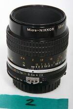 Nikon Micro-Nikkor 55mm f2.8 Lens AIS Mount  + PK-13 tube = 1:1 focusing