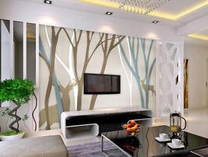 3D Trees And Deers 74 Wall Paper Murals Wall Print Wall Wallpaper Mural AU Kyra
