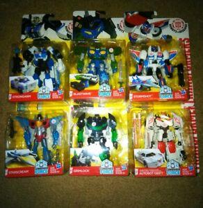 6-Transformer-Robots-in-Disguise-BLASTWAVE-STORMSHOT-STARSCREAM-DRIFT-and-more