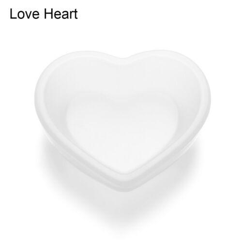 Epoxy Mold Love Heart Jewelry Making Tools Plate Resin Mold Dish Silicone Mould