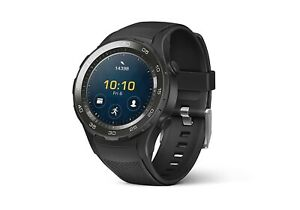 HUAWEI-Watch-2-Smartwatch-4-GB-Android-Wear-Bluetooth-WiFi-Carbon-Black