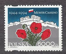 POLAND 1994 **MNH SC#3196 WWII, Battle of Monte Cassino