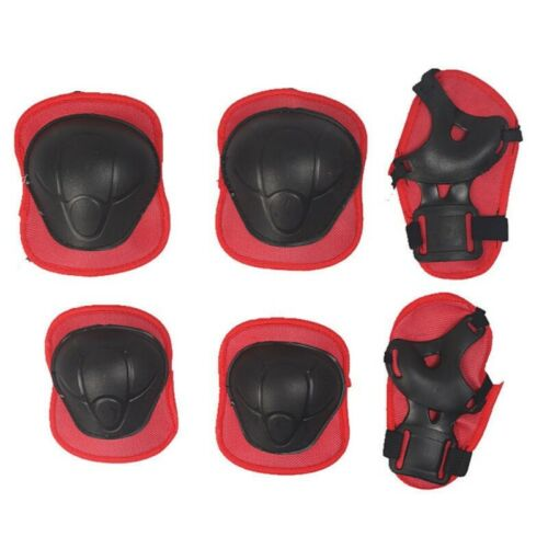 US Child Kids Safety Protective Knee//Elbow//Wrist Guard Gear Pad Sets for Sports