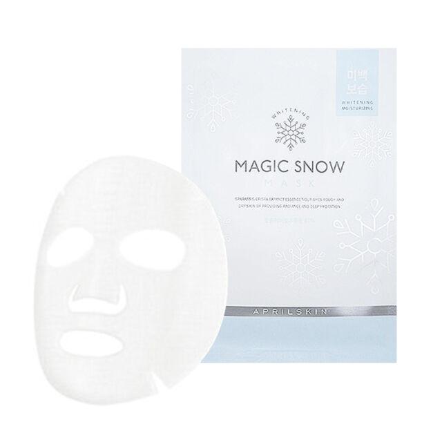 [APRILSKIN] Magic Snow Mask 1/2/10pcs Lot / BEST Korea Cosmetic