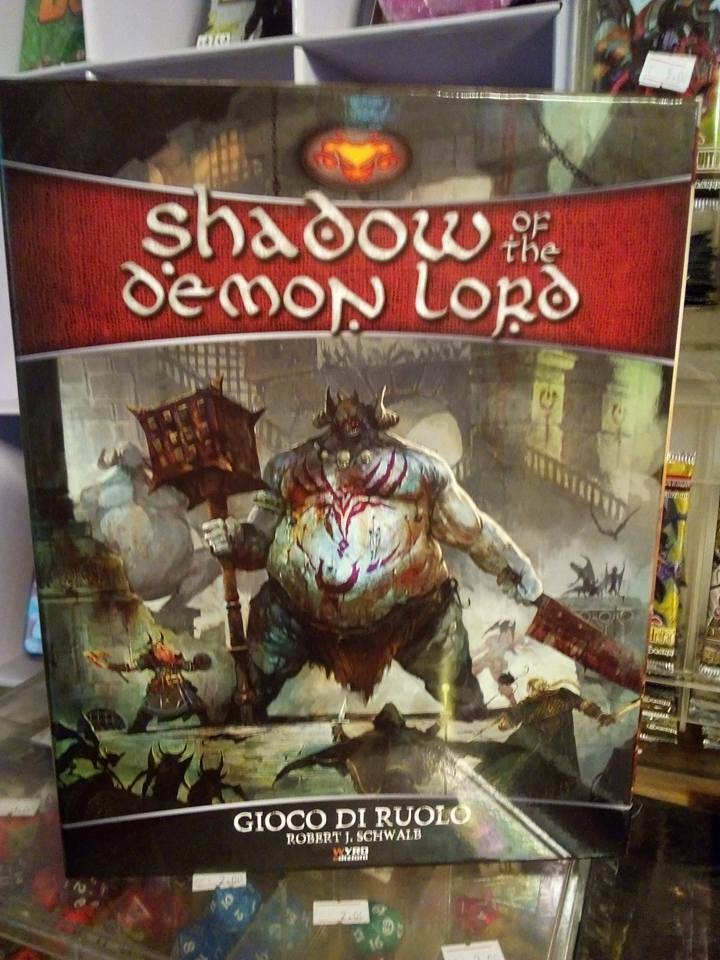 Shadow of the Demon Lord Gioco di Ruolo EDIZIONE ITALIANA