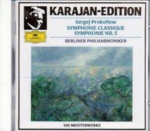 Berliner-Philharmoniker-Karajan-Edition-Sergej-Prokofiew-Symphonie-Classique-S