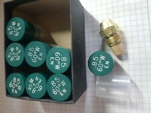 Gicleur fioul fuel  85° 0.60 W Lot de 2 marque DELAVAN chaudiere fioul nozzle