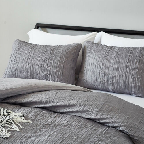 Duvet Quilt Cover Pillow Case Bedroom Bedding Set Comforter Twin Queen King Size