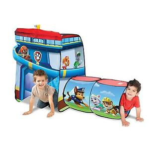 Image is loading Playhut-Paw-Patrol-Tent-2-Structures-Kids-Toys-  sc 1 st  eBay & Playhut Paw Patrol Tent 2 Structures Kids Toys Toddlers Tunnel ...