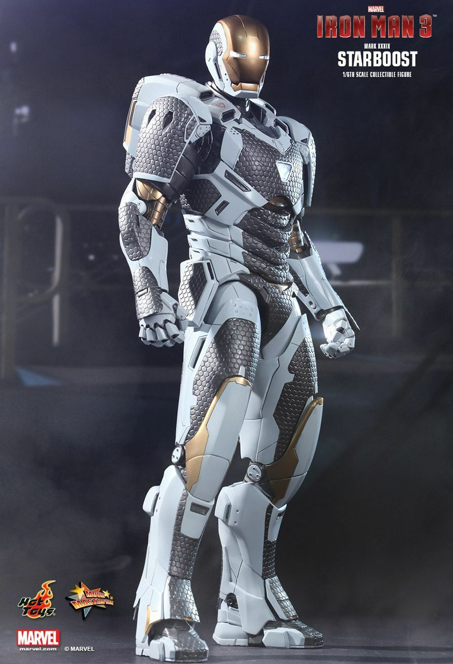 HOT TOYS - IRON MAN STARBOOST (MARK XXXIX) 1 6TH SCALE COLLECTIBLE FIGURE