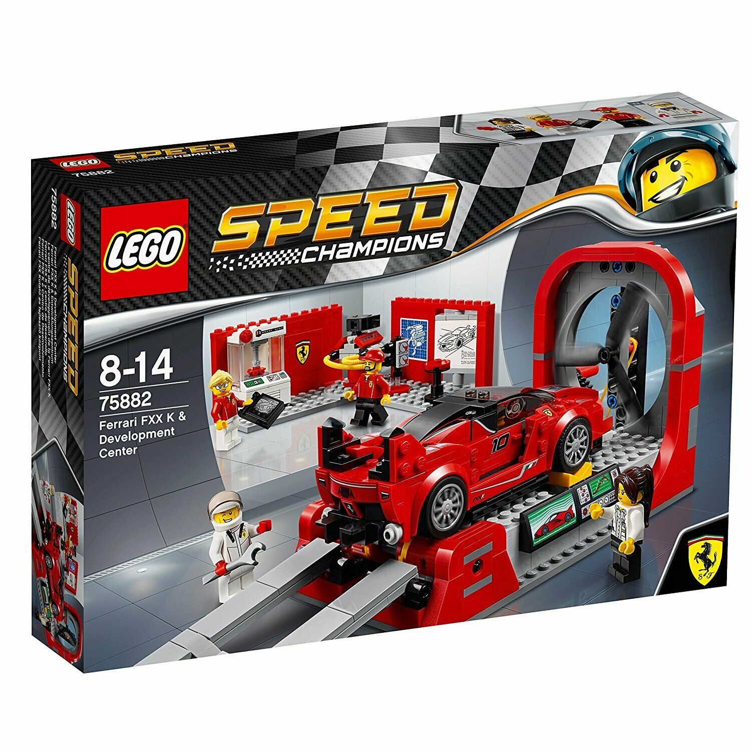 LEGO Speed Champions (75882) Ferrari FXX K Development Center (Brand New Sealed)
