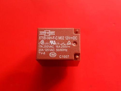 1PC  875B-1AH-F-C M02  12VDC Relay  SONG CHUAN Brand